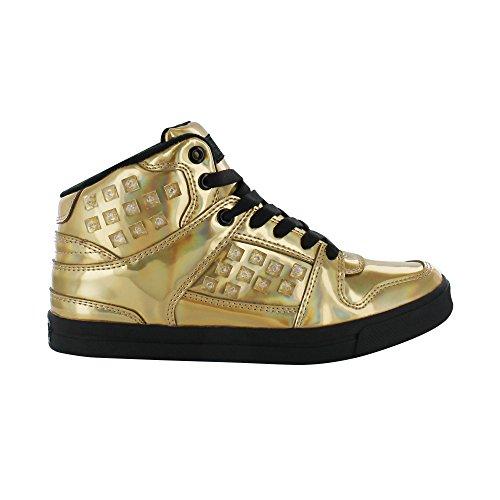 Gotta Flurt Hip Hop HD III Girls Gold Black Dance Lifestyle Competition Shoe - Size 1 by Gotta Flurt