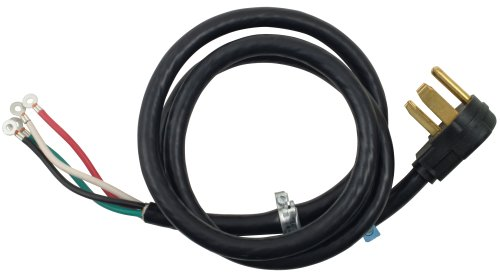 Whirlpool 8171381RC 6-Feet 30-Amp 4 Wire Dryer Cord
