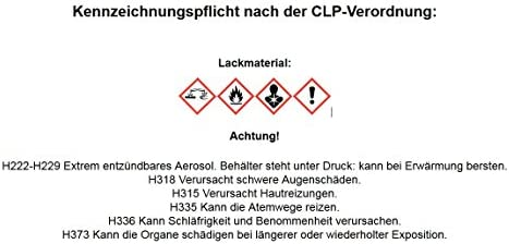 Lackpoint Spraydose Set 400ml Basislack In Wunschfarbe Metallic Uni Klarlack Autolack Auto