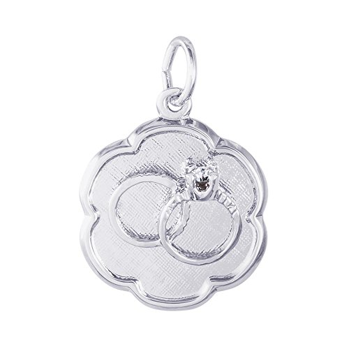 Rembrandt Charms Wedding Rings Disc Charm