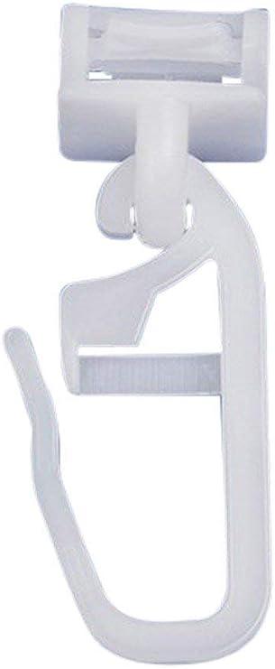 Klick-Gleiter Gardinengleiter Gardinenhaken Faltengleiter Faltenhaken 4mm 6mm
