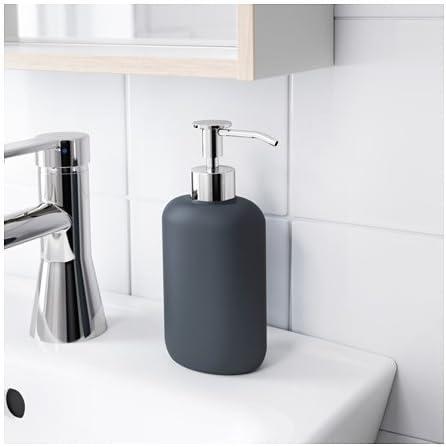 Ikea Ekoln Soap Dispense Dark Grey Home Kitchen Amazon Com