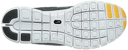 Nike Free Powerlines Sneakers Da Uomo Ii Ltr Grigio / Oro / Antracite 599476-003 Grigio