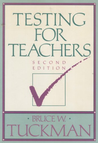 Testing for Teachers