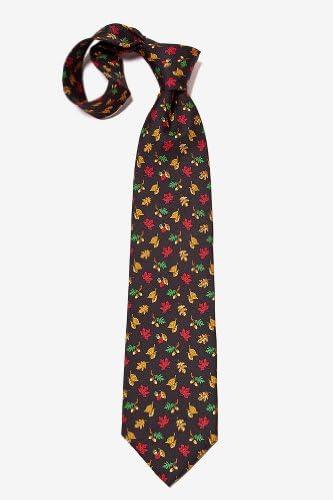The Fall Guy Mens Thanksgiving Fall Autumn Necktie 100/% Silk Handmade Woven Tie