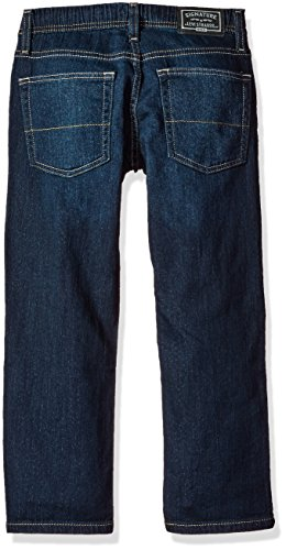 Signature by Levi Strauss & Co. Gold Label Big Boys' Athletic Recess Fit Jeans, Grande, 8