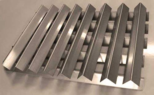 RiversEdge Products Stainless Flavorizer Bars, Set of 13, 20 Gauge, 7538, 15.88'' 23.38'' by RiversEdge Products (Image #3)