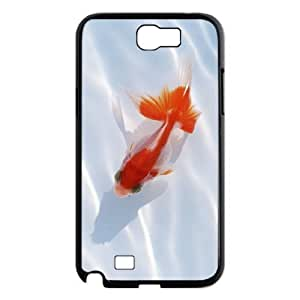 Goldfish Phone Case For Samsung Galaxy Note 2 N7100 [Pattern-1]