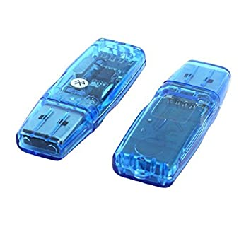 Amazon.com: DealMux sem fio Bluetooth Versão 2.0 Áudio receptor de música 2pcs adaptador USB para PC portátil: Electronics