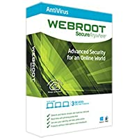 Webroot Complete Protection Software for Windows/Mac