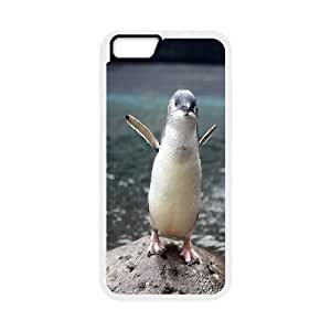 Penguin Case Cover For HTC One M7 Antishock Little Blue Penguin, Case Cover For HTC One M7 Cheap [White]