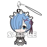 Re:Zero -Starting Life in Another World- Capsule Toy Rem Rubber Strap Lap Pillow (single)