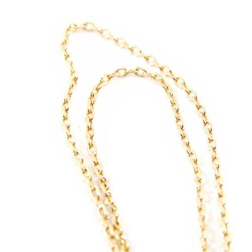 Les Trésors De Lily [E5611] - Chaîne Cheville 'Forçat' 25 cm 1. 2 mm