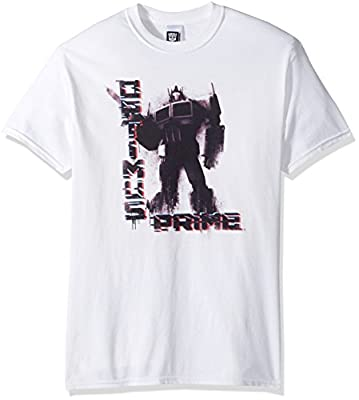 Transformers Men's Optimus Prime Badass T-Shirt