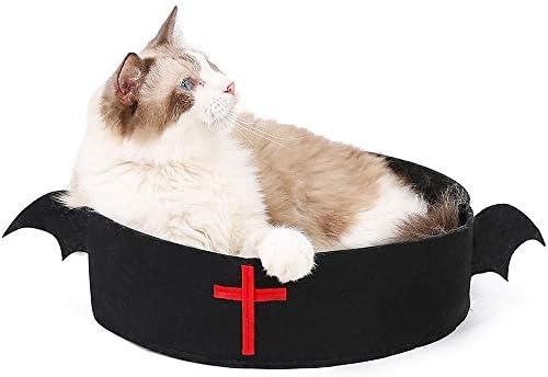 Cama redonda para gatos Auoker, creativa cama nido para gatos ...