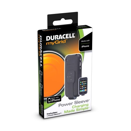 Duracell myGrid Power Sleeve for Apple iPhone 1-Count