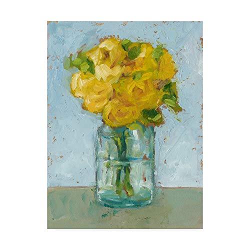 Trademark Fine Art Impressionist Floral Study III by Ethan Harper, 24x32