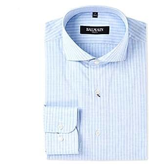 Balmain Shirt For Men, Light Blue