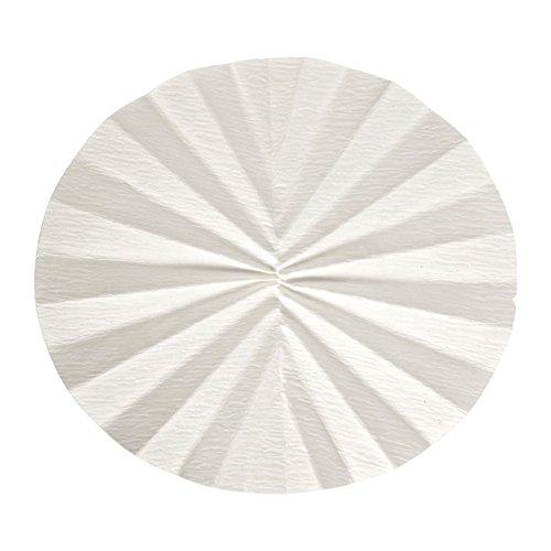 Whatman 1202-150 Quantitative Folded Filter Paper, 8 Micron, Grade 2V, 150mm Diameter (Pack of 100) by Whatman