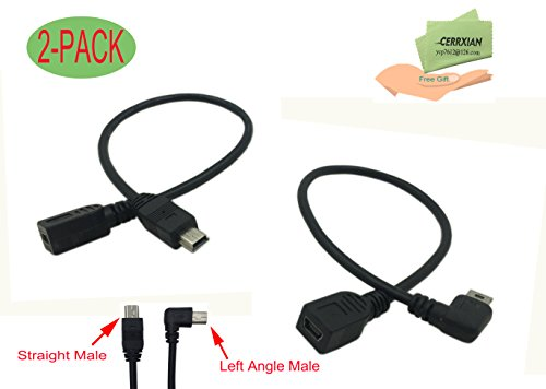 Standard USB 2.0 Female to Mini USB 5-pin Male Adapter Converter - 8