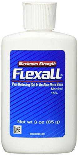 Flexall Gel Maximum Strength, 3 oz (Pack of (Pain Relief Maximum Strength Gel)