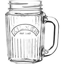 Kilner Glassware Mini Handled Drinking Jar
