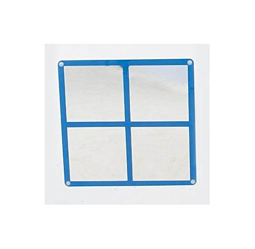 Children's Factory Square Windowpane Mirror