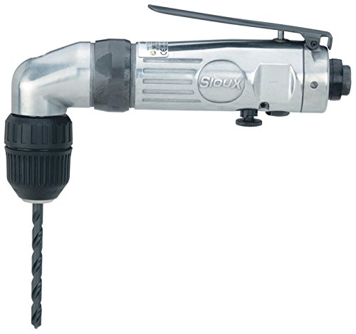 Sioux Tools 5430KL - Air Drill or Driver - Reversible, Angled Handle, Chuck Size 10 mm, 3/8 in, 1200 rpm Maximum Speed