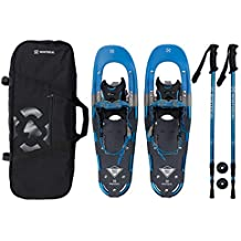 Winterial Back Trail Snowshoes/Recreational Snowshoes/Snowshoeing / Snowshoe/Backcountry Snowshoeing/Rolling Terrain Snowshoes/Poles Included!