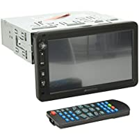 Soundstream VR-732B Single Din Car Stereo DVD Player with 7 LCD Touchscreen Display/Bluetooth