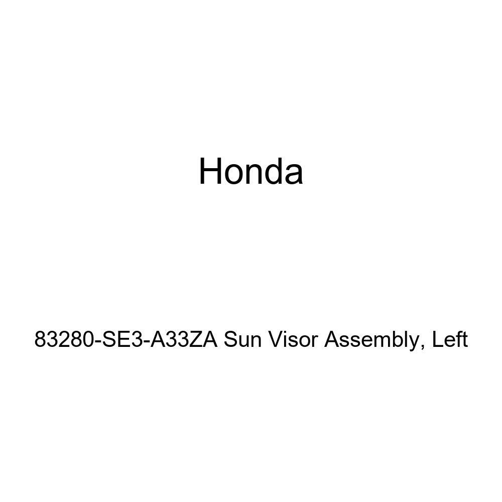 Left Honda Genuine 83280-SE3-A33ZA Sun Visor Assembly
