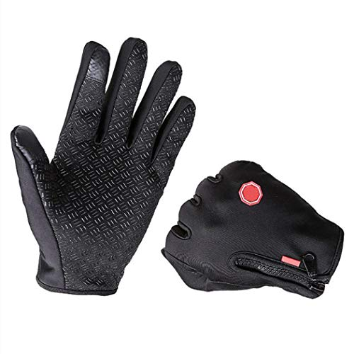 Xixou Touchscreen Gloves,Outdoor Winter Gloves Touchscreen Running Waterproof Warm Unisex Gloves