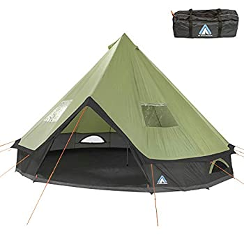 Image of 10T Outdoor Equipment Mojave 400 Beech Nut Tent Green 400 x 400 x 250 cm Tents