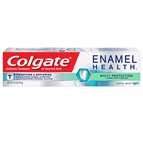 Colgate Enamel Health Toothpaste, Multi-Protection, Cool Mint, 6 Ounce