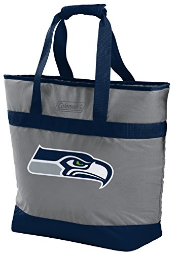NFL 30 Can Soft Sided Tote Cooler, Seattle Seahawks