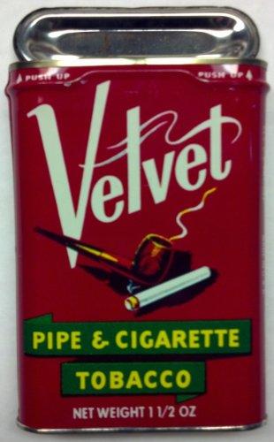 Prince Albert Tobacco (Vintage Velvet Tobacco Tin)