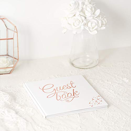 Calculs Blank Wedding Guest Book Guest Sign-in Book Registry Guestbook 8.5