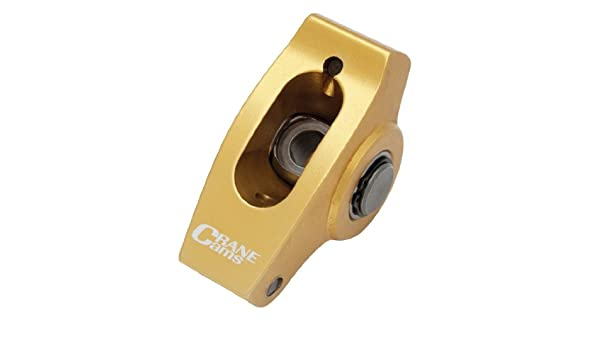 Crane Cams 11755-16 7//16 Gold Race Rocker Arm for Chevrolet V8, Set of 16
