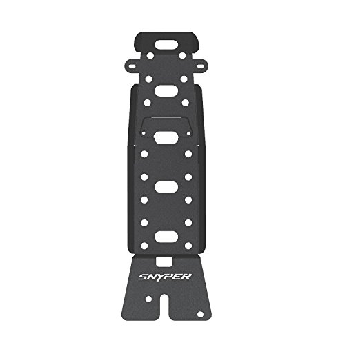 Westin Automotive Products 42-21015 Textured Black Snyper Oil Pan/Transmission Skid Plate