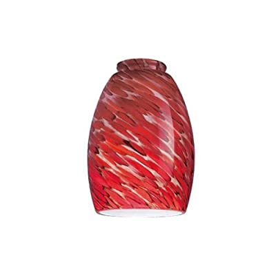 Westinghouse Lighting Corp 8141300 2-1/4-Inch Chili Glass Shade