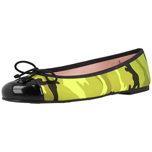 Color Para Mujer Zapatos Mujer Amarillo Ballerinas Marca Pretty Modelo Amarillo Ballerinas Bailarina Balla q5t4Bwa