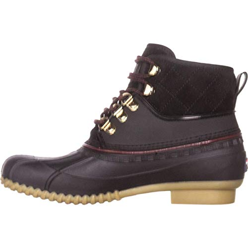 Tommy Hilfiger Womens Rinah Closed Toe Ankle Cold Weather, Black sy, Size 8.0