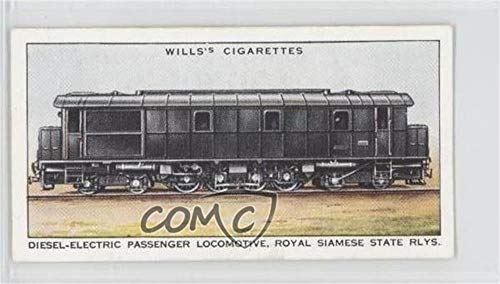 Diesel-Electric Passenger Locomotive (Trading Card) 1936 Wills Railway Engines - Tobacco [Base] #38 -