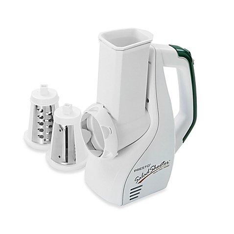 Presto 02910 UL Listed Dishwasher Safe Salad Shooter Electric Slicer/Shredder by Presto Salad Shooter