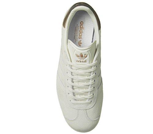 Sneaker Adidas Gazelle In Gesso Bianco Rame