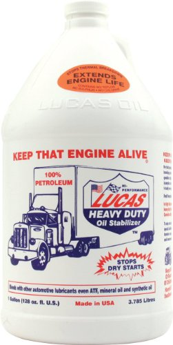 Lucas Heavy Duty Oil Stabilizer 1 Gallon (Case of 4) by Lucas
