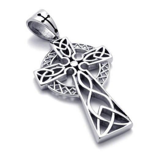 KONOV Stainless Celtic Necklace Pendant