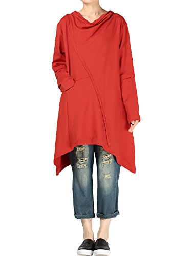 mordenmiss-womens-leisure-long-sleeve-boat-neck-fall-tops-us-m-red-us-m