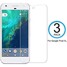 """[3-Pack] Google Pixel XL Screen Protector, Ytingxiad [Bubble-Free][HD-Clear][Anti-Scratch][Anti-Glare][Anti-Fingerprint] Tempered Glass Screen Protector for Google Pixel XL (5.5"""",2016)"""