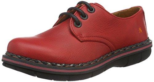Art ASSEN - Zapatos Mujer Rojo (Carmin)